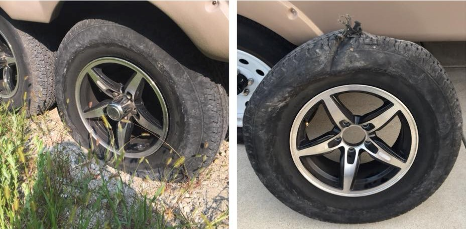 TST Tire Example Before and After